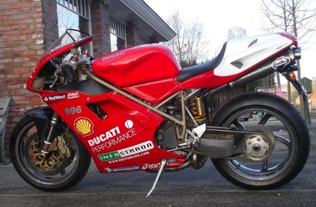 Rare SportBikes For Sale.com  | Brand New '97 Ducati 996SPS in Belgium | Ductalk | Scoop.it