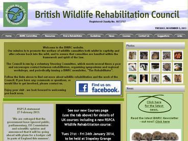 British Wildlife Rehabilitation Council | LandbasedUsefulWebsites | Scoop.it