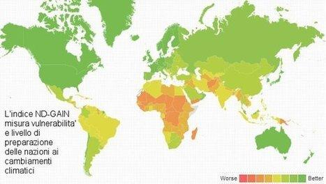 Vulnerabilita' e preparazione ai cambiamenti climatici: ecco la mappa degli Stati | Ambiente e Territorio | Scoop.it