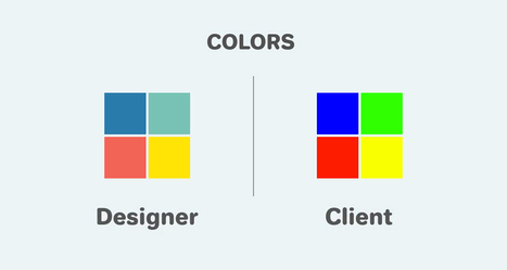 11 Differences Between Designers And Clients | DigitalSynopsis.com | Scoop.it