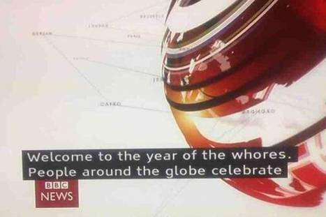 Chinese New Year: BBC subtitle blunder reads 'Welcome to the year of the whores' | Translation Business | Scoop.it