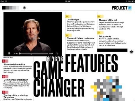 Presse : le magazine Project pour iPad gratuit pour Noël | A propos de l'avenir de la presse | Scoop.it