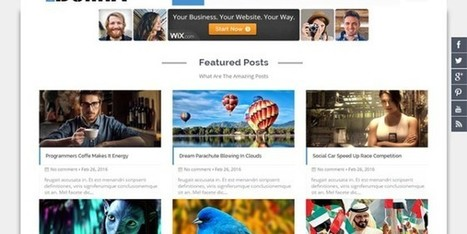 Bolina Blogger Template | Blogger themes | Scoop.it