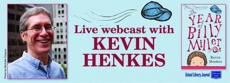 Kevin Henkes Live! Join us for an exclusive webcast with beloved children's book author Kevin Henkes | AdLit | Scoop.it