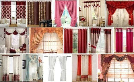 Basic Overview On Types Of Curtains   Gifts Gallery - Home Appliances, Home Furnishing, Home Decor, House Hold, Beauty Products   Scoop.it