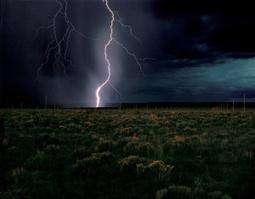 Walter de Maria: Lightning Field   LE DÉSERT AMÉRICAIN   Scoop.it