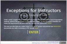 Exceptions for Instructors U.S. Copyright Law   Copyright and Fair Use   Scoop.it