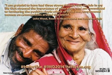 Una pequeña muestra de la campaña #HeforShe | El Salvador | Scoop.it