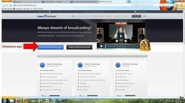 Crea una radio por Internet - Atajos Web   Blogs   Peru21   RedDOLAC   Scoop.it