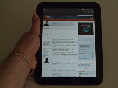 Everything you want to know about the HP TouchPad: news, reviews | ZDNet | Technology and Gadgets | Scoop.it
