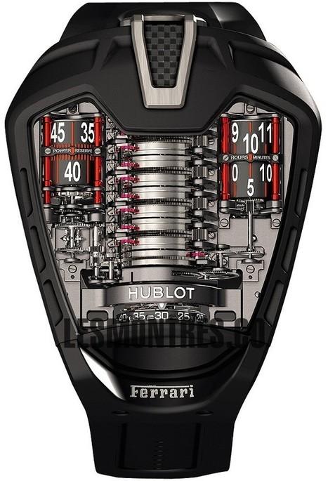 Suisse Replique Hublot Masterpiece MP-05 Ferrari Laferrari 905.ND.0001.RX | replique montres pas cher | Scoop.it