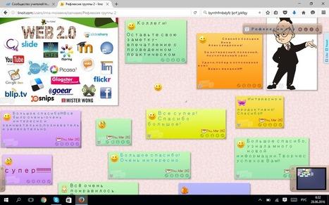 Сообщество учителей Intel Education Galaxy -> Новая школьная библиотека: использование в работе сервиса Linoit | Сетевые сервисы и инструменты | Scoop.it