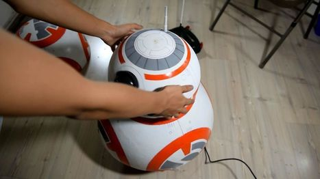 How to make your own life-size, remote-controlled BB-8 toy for less than $150   HiddenTavern   Scoop.it