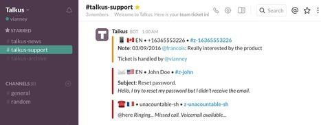 TalkUs. Dialoguez avec les visiteurs de votre site via Slack - Les Outils Collaboratifs | Les outils du Web 2.0 | Scoop.it