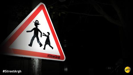 Street Argh: dalla Francia arriva uno spazio su Tumblr che coniuga la street art e le saghe (a fumetti e in tv) dei trapassati che camminano | Arte Pubblica | Scoop.it