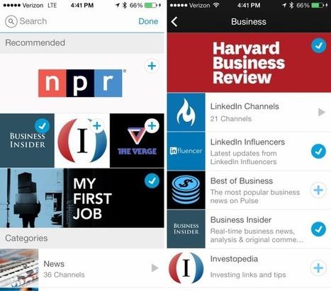 LinkedIn Drops LinkedIn Today For Pulse Newsreader; Integrates LinkedIn Sign-On Into Pulse's Updated App | Tech News: Gadgets | Scoop.it