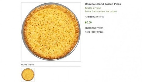 You can now order Domino's pizza with Bitcoins | Geek-Cetera | Geek.com | BitCoin | Scoop.it