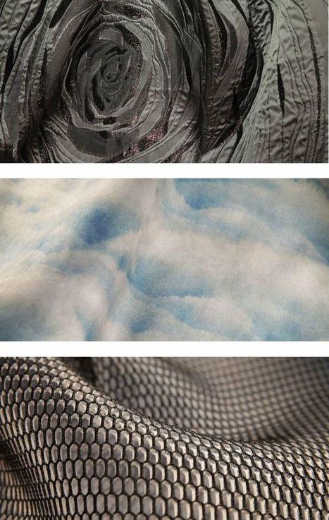 Les tissus dans la 4e dimension | lucileee* | Scoop.it