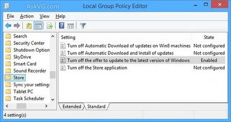 How to Disable Automatic Upgrade to Latest Windows Version in Windows 8 and 8.1 - AskVG | Some pages | Scoop.it