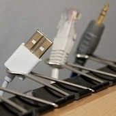 Binder Clips as Cable Catchers Redux | More TechBits | Scoop.it