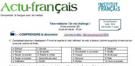Actu-français : Médecine à tout prix | Le blog des profs de l'Institut Français à Madrid | En français, au jour le jour | Scoop.it