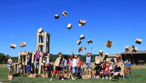 Artículo sobre el taller de cartón en la Fund. Cerezales con cartonLAB Diario de León | Marntín cerezales | Scoop.it
