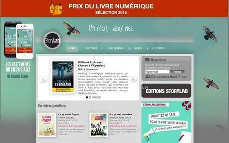 Édition numérique : Storylab reprend Le Manuscrit | Info-Doc | Scoop.it