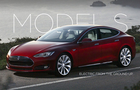 Tesla Model S — Gallery: 10 Cool Electric Cars | Complex | Electric Car Pictures | Scoop.it