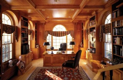 10 Luxury Office Design Ideas For a Remarkable Interior   Designing Interiors   Scoop.it