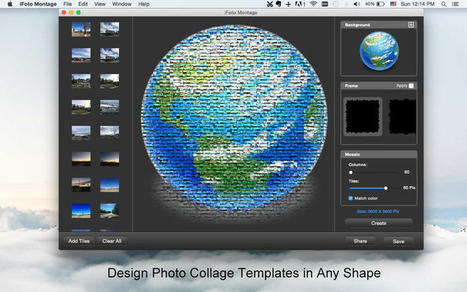 iFoto Montage pour créer un photomontage sous forme de mosaïque | Chroniques libelluliennes | Scoop.it