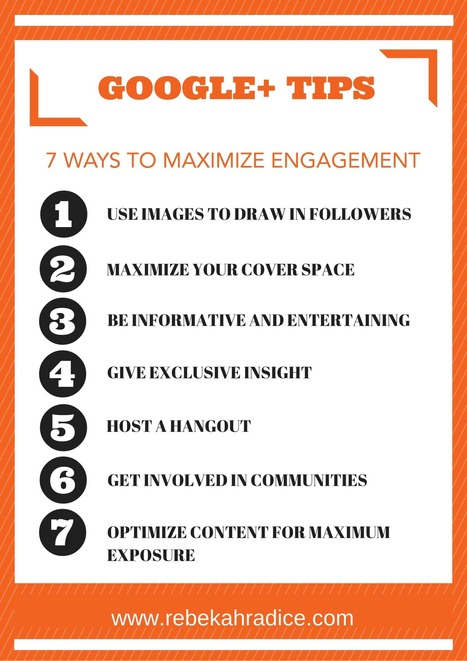 7 Google+ Tips to Create Maximum Engagement | Google Plus and Social SEO | Scoop.it