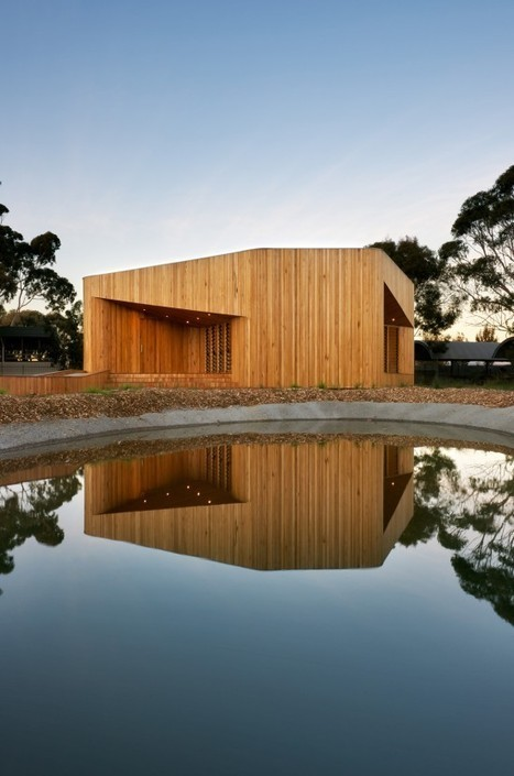 Bentleigh Secondary College Meditation & Indigenous Cultural Centre, Australia | sustainable architecture | Scoop.it