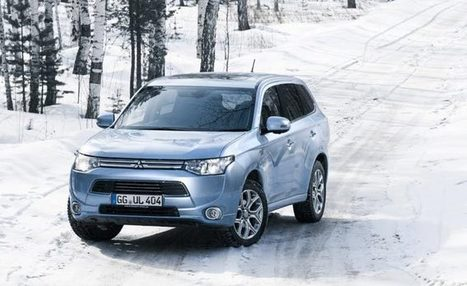 Cold-Weather Proven, Outlander PHEV Ready For Russia And Canada - HybridCars.com | Mitsubishi Outlander | Scoop.it