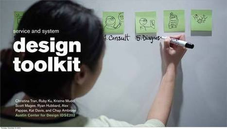 Service and System Design Toolkit | UXploration | Scoop.it