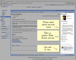Rapportive - The Gmail Add On You Have to Try! - Lifehack | optioneerJM | Scoop.it
