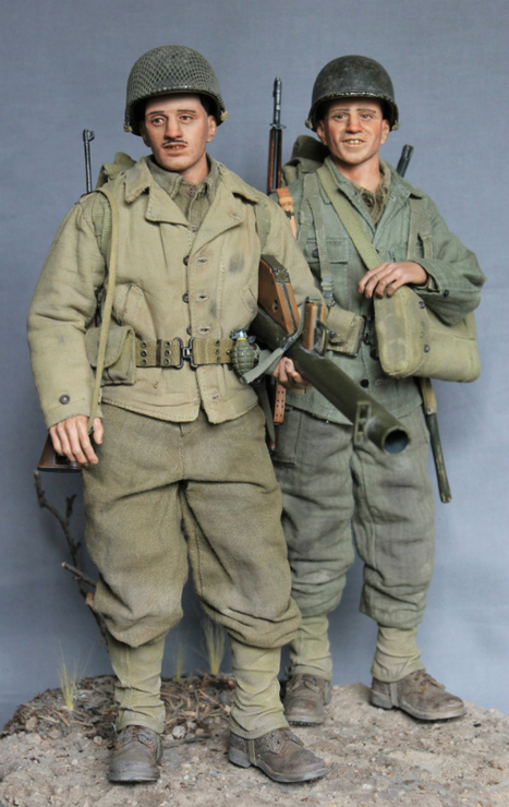 Bert and Ernie- 30th Infantry Division September, 1944 | Military Miniatures H.Q. | Scoop.it