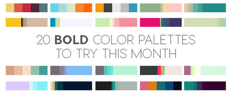 20 Bold Color Palettes to Try This Month: August 2015 | xposing world of Photography & Design | Scoop.it