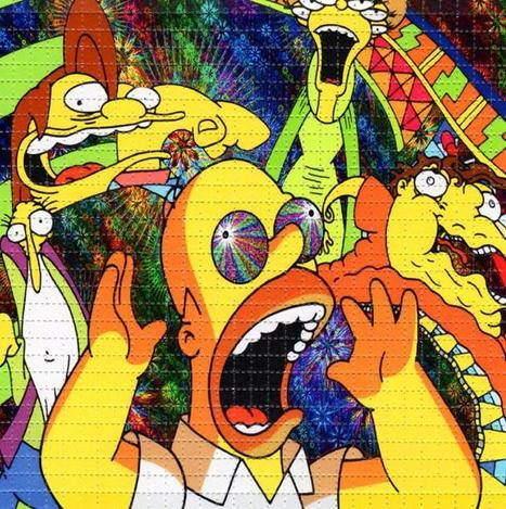 Guy spends 2 days taking LSD and watching The Simpsons, documents his revelations | ELECTRONICAPEDIA | Artistry & Culture | Scoop.it