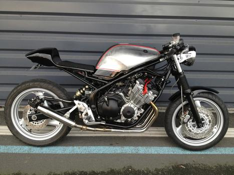 Yamaha 600 Diversion by Garage9 | Cafe Racers | Scoop.it