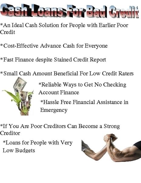 Cash Loans for Bad Credit- Instant Cash Loans with Installment Repayment   Cash Loans For Bad Credit   Scoop.it