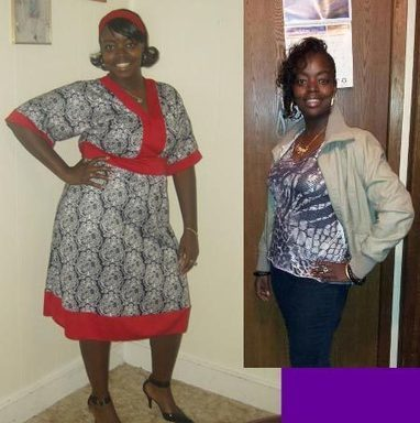 Alicia lost 72 pounds | Black Weight Loss Success | Enhance Your Curves With Fitness | Scoop.it