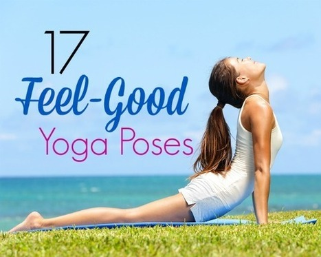 17 Feel-Good Yoga Poses | Fit Bottomed Girls | balanceandboards.com | Scoop.it