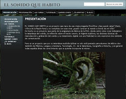 En la nube TIC: Proyecto colaborativo #elsonidoquehabito | Curriculum digital | Scoop.it
