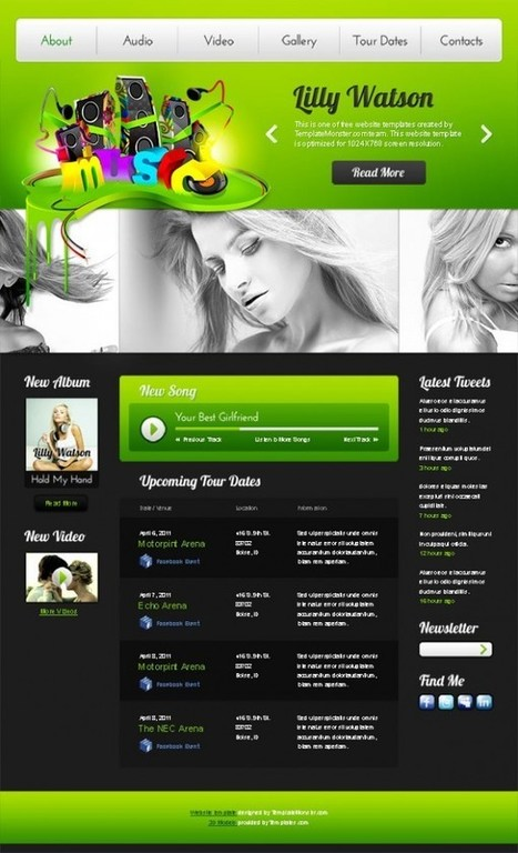 Best free high quality HTML/CSS templates - examples and tutorials | e-learning y moodle | Scoop.it