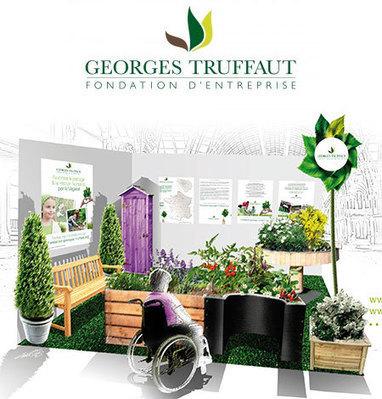 La Fondation d'entreprise Georges TRUFFAUT à l'Art du Jardin avec ... - Capgeris | Handicap et emploi : du secteur protégé vers l'entreprise ordinaire | Scoop.it