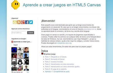 Un buen tutorial en español para aprender a crear juegos con HTML5 | Recull diari | Scoop.it