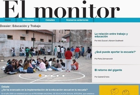 Revista <em>El Monitor</em> en formato digital - Noticias educ.ar | Impacto TIC en Educación | Scoop.it