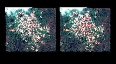 Centrafrique: comment un crime de guerre est visible de l'espace   Slate   Centrafrique   Scoop.it