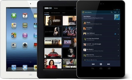 iPad Mini, Amazon Kindle Fire HD, Nexus 7 : quelle tablette de 7 pouces choisir ? » Menly | Digital Freedom | Scoop.it