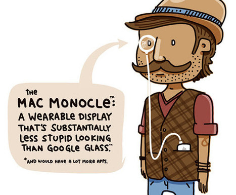Apple's Answer to Google Glass: The Mac Monocle | ESocial | Scoop.it